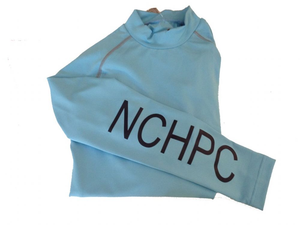 Kids NCHPC turquoise Base Layers